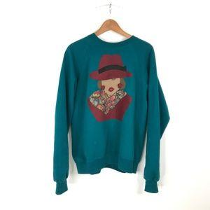 Vintage Carmen Sandiego Oversized Sweater